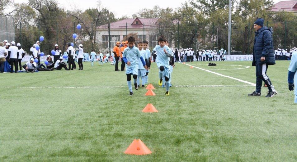 Футбольный центр «Жас-Кыран» подготовит новое поколение профессиональных игроков