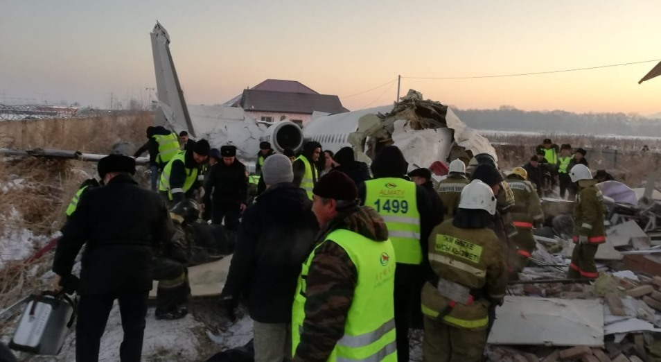 Авиакатастрофа «Бек Эйр» под Алматы: хроника событий