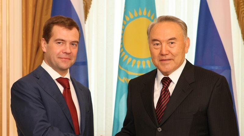 О чем говорили Нурсултан Назарбаев и Дмитрий Медведев