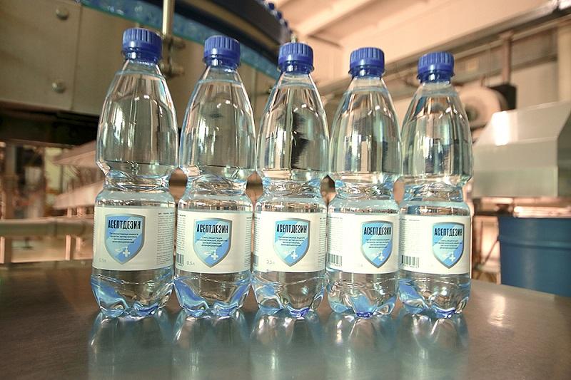 В Казахстане начали промышленное производство антисептиков