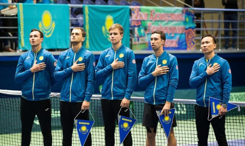 Кубок Дэвиса: казахстанцы проведут матчи против Великобритании и Нидерландов