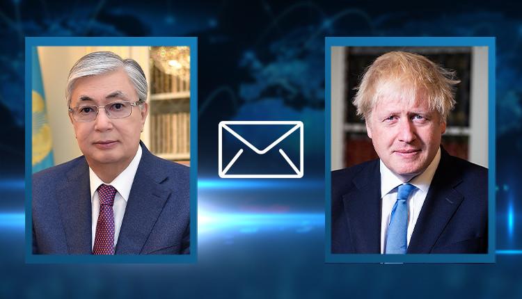 ҚР Президенті Ұлыбританияның Премьер-Министріне көңіл айтты