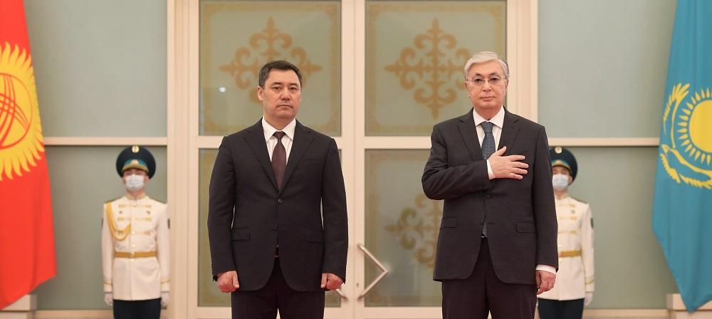 Президенты Казахстана и Кыргызстана приняли совместное заявление