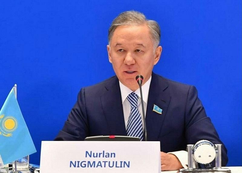 Нурсултан Назарбаев предложил Нигматулина на пост лидера фракции Nur Otan в мажилисе