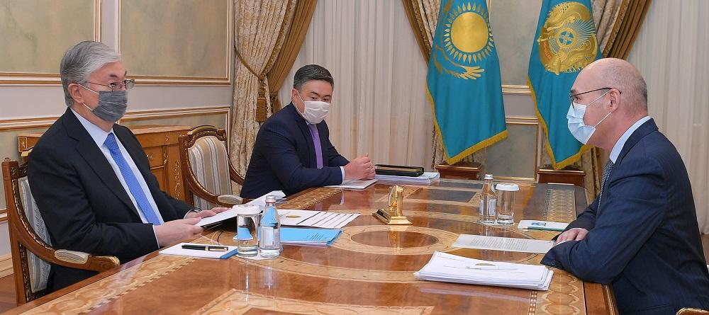 Что обсуждал президент с Кайратом Келимбетовым