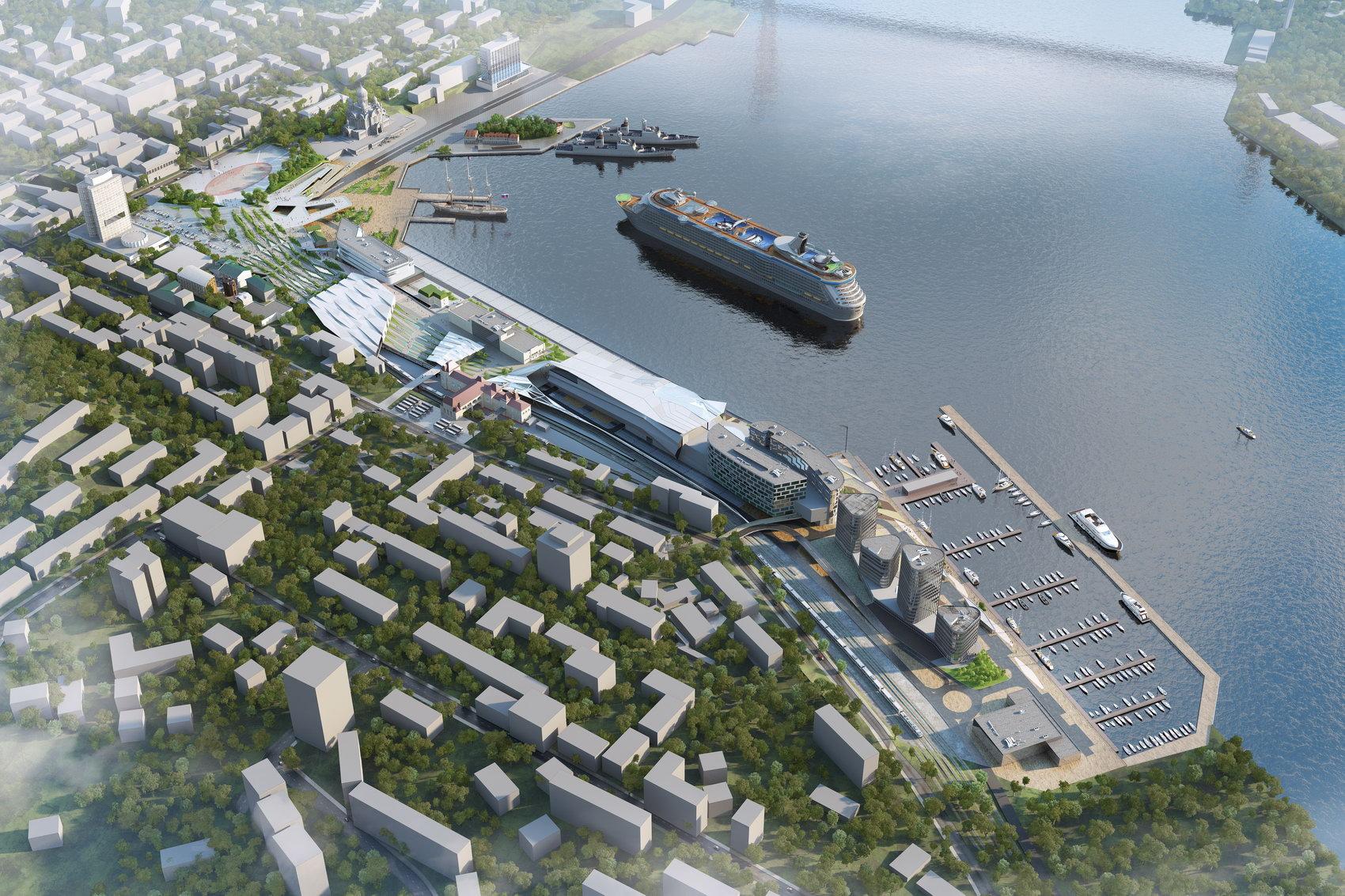 Пассажирский морской порт предложили построить в Казахстане