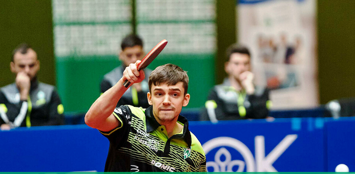 Команда Кирилла Герасименко уступила в туре Бундеслиги по настольному теннису