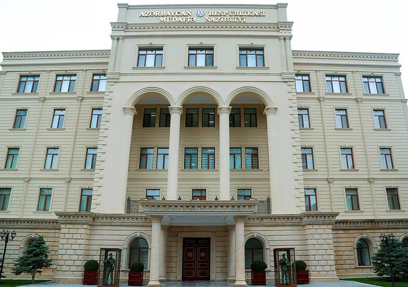 Минобороны Азербайджана сообщает об обстрелах со стороны Армении