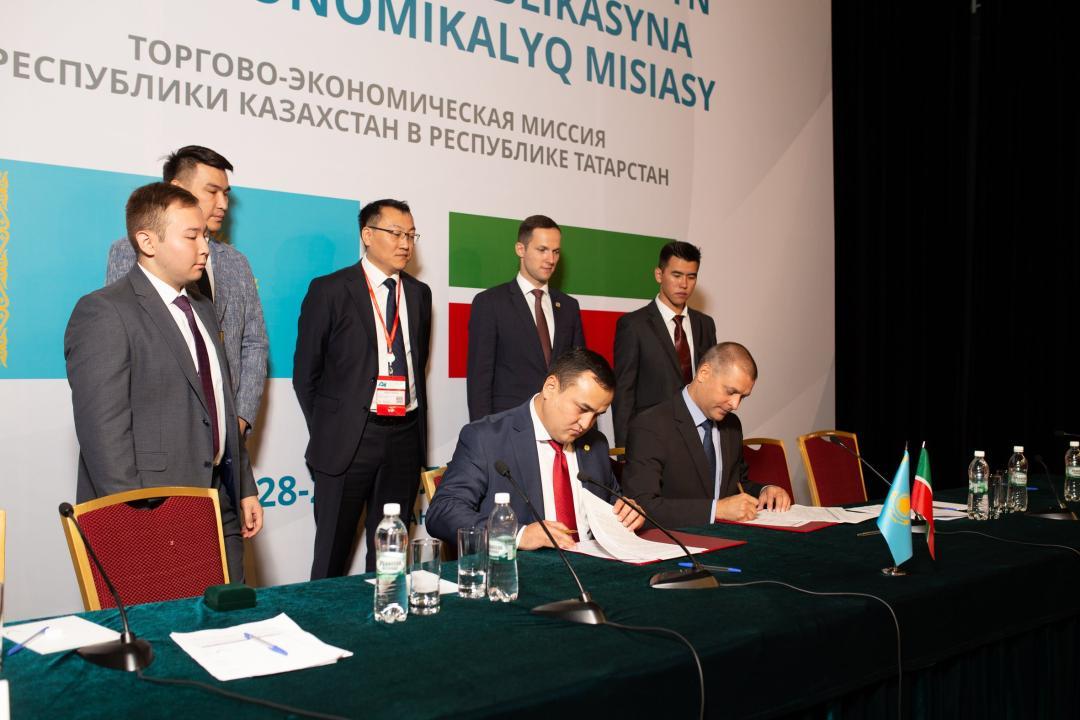 Товарооборот между Казахстаном и Татарстаном составил более 500 млн долларов в прошлом году