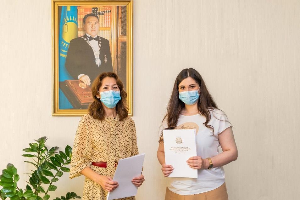 МОН РК поддержал проект «Профориентация» фонда AYALA