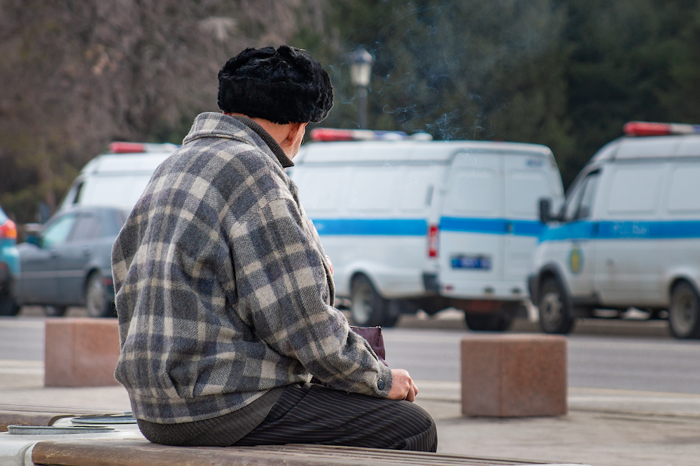 Сколько пенсионеров в Казахстане