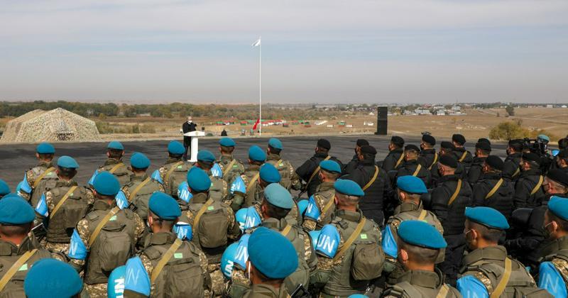Казахстан готов направить в миротворческие миссии ООН спецподразделения саперов, медиков, разведки и военной полиции