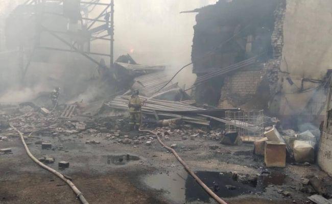 Число погибших на заводе под Рязанью увеличилось до 17