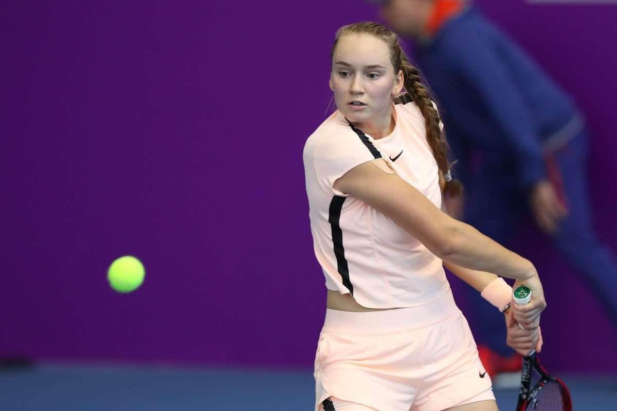 Первая ракетка Казахстана Елена Рыбакина выступит на турнире в Праге