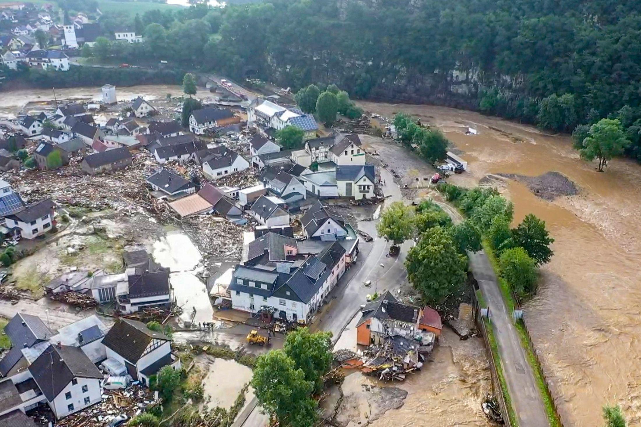 Наводнение в Германии: названо число жертв