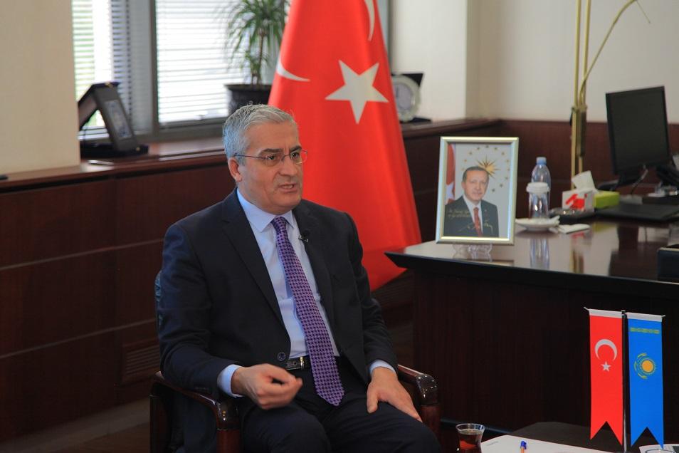 Түркия елшісі: Анкара операциясы күрдтерге қарсы бағытталмаған