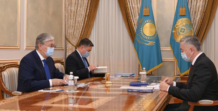 АЗРК отчиталось перед президентом РК о стабилизации цен