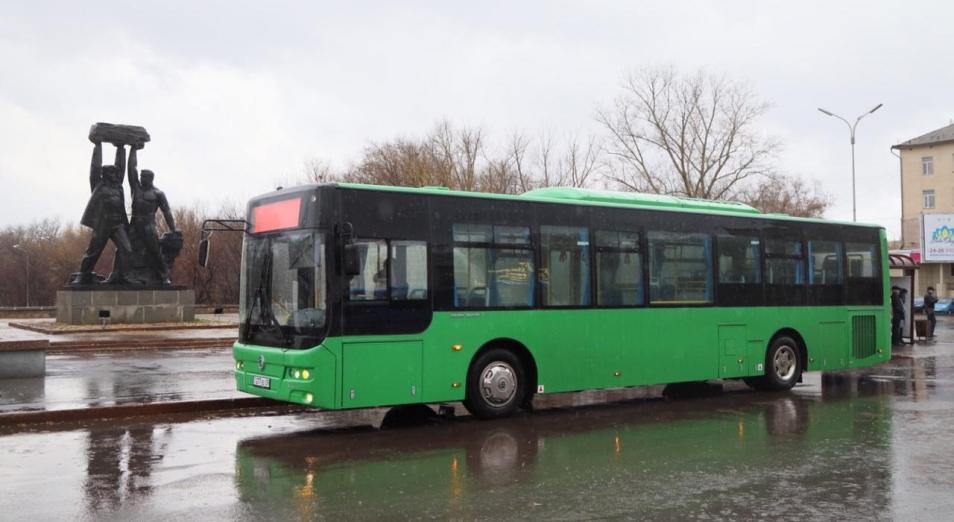Караганда обновляет автопарк общественного транспорта