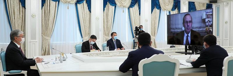 О чем говорил президент Казахстана с председателем совета директоров  компании «Шеврон»