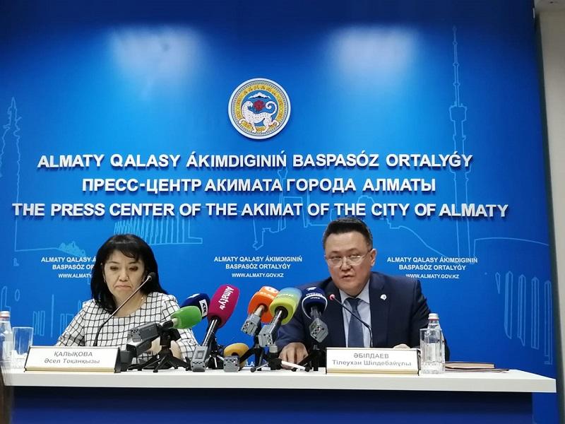В Алматы развернуты койки в двух инфекционных стационарах для пациентов с подозрением на коронавирус
