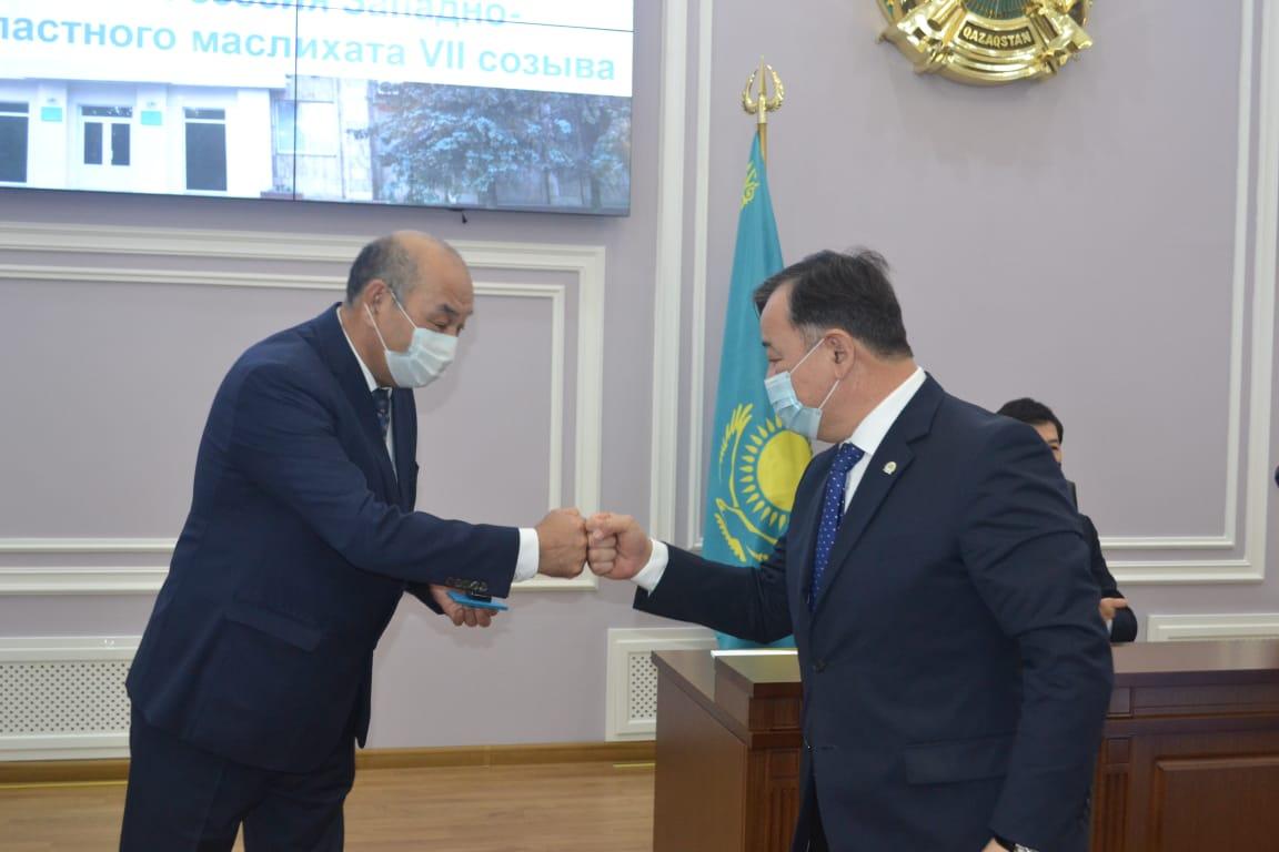 В ЗКО сменились секретари областного и городского маслихатов