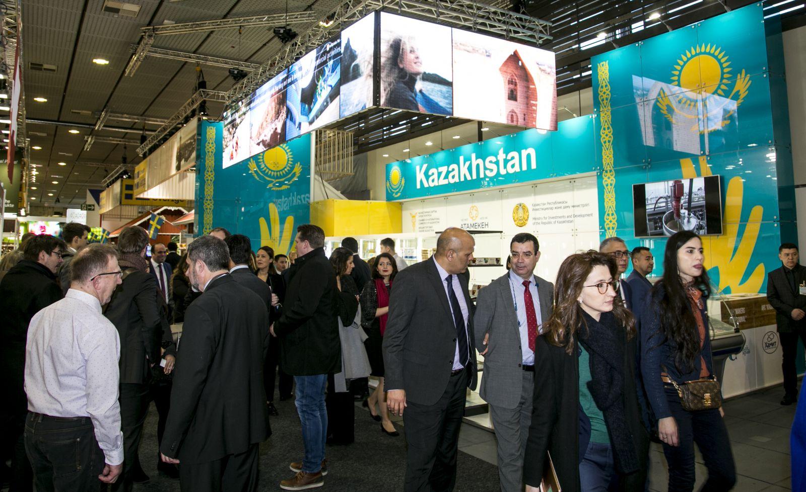 Предприниматели РК представили свою продукцию в Берлине