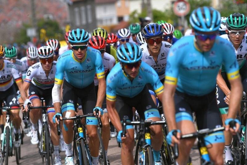«Тур де Франс»: капитан команды «Астана» стал девятым