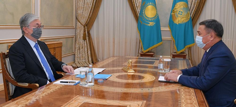 О чем президент Казахстана говорил с Маратом Ахметжановым