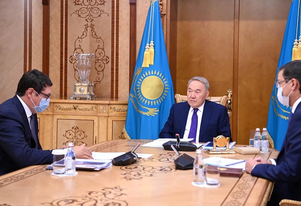 Финпоказатели «Самрук-Казына» представили Нурсултану Назарбаеву