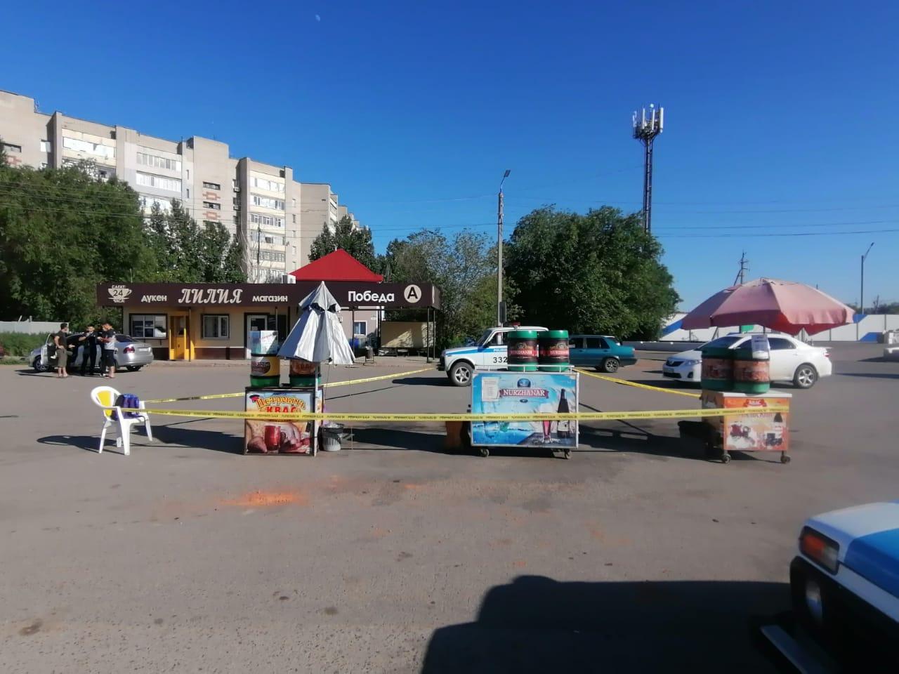 Словесная ссора на улице в Уральске закончилась летальным исходом
