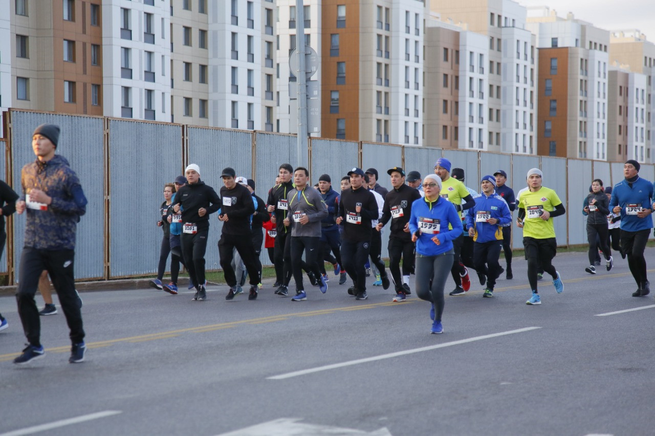 Елордада Astana Marathon-2021 басталды