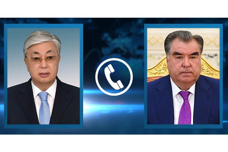 Токаев поздравил Рахмона с переизбранием на пост президента Таджикистана