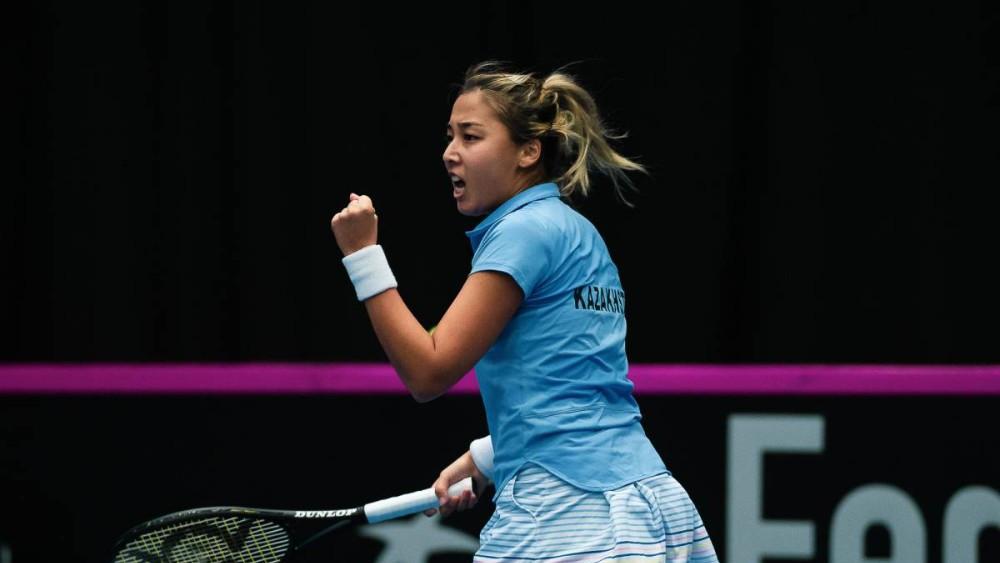 В теннисе еще одна лицензия: Зарина Дияс выступит на Олимпиаде в Токио