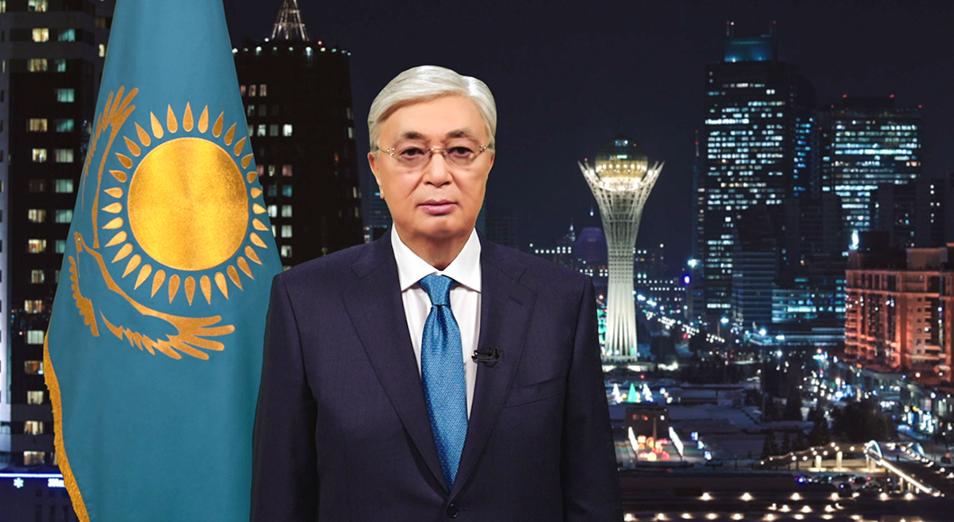 Новогоднее поздравление президента народу Казахстана