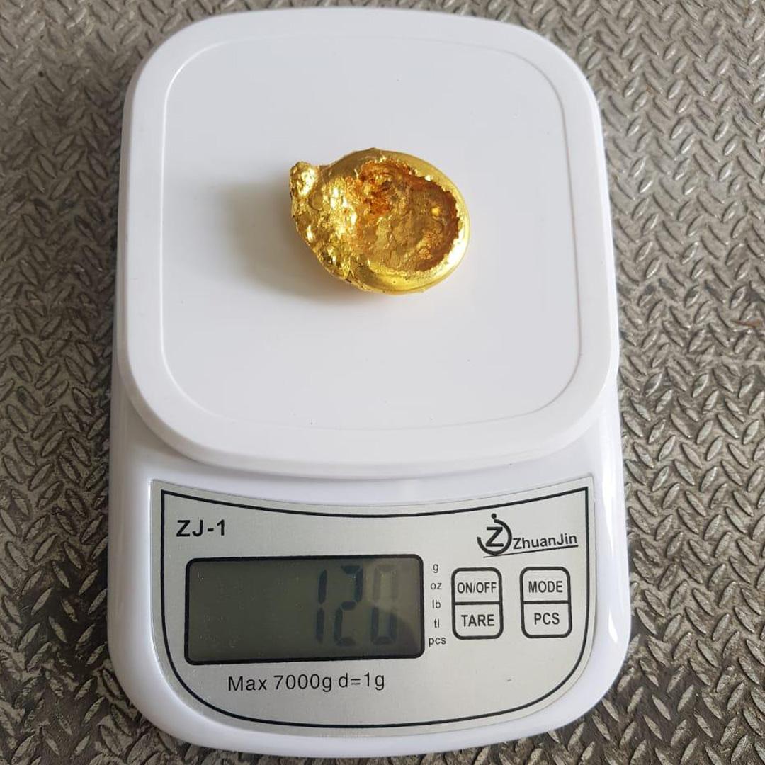 Золотой слиток пытались провезти контрабандой в Костанайской области