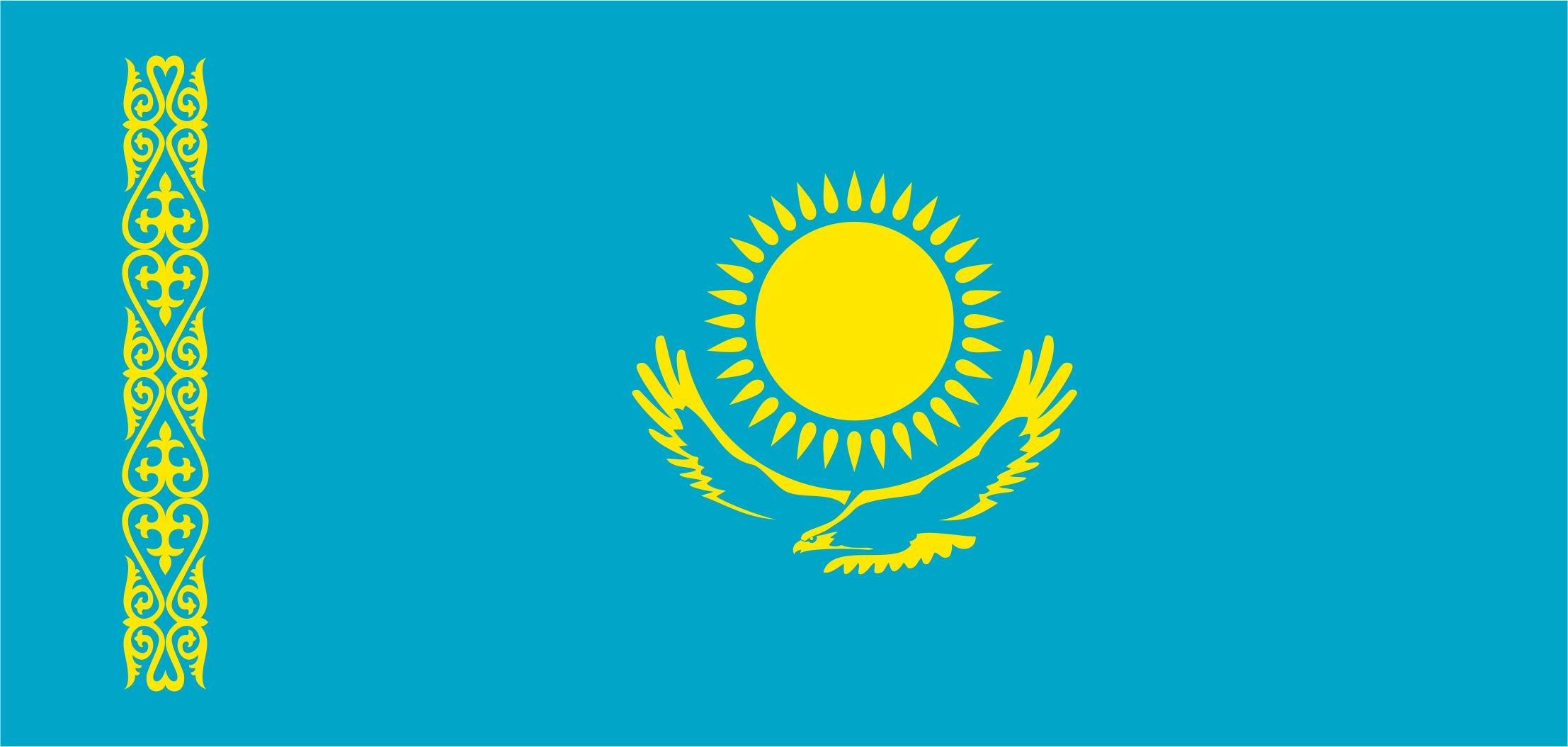 Казахстанцам разрешили вывешивать на балконах государственный флаг