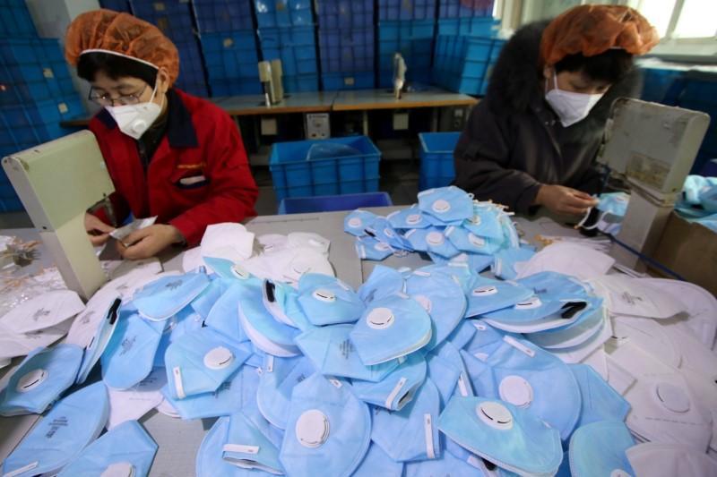 Қытай былтыр 220 миллиард маска экспорттады