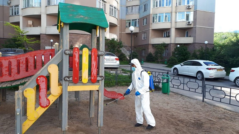Стал известен график дезинфекции многоэтажных жилых домов в Алматы на 12 мая