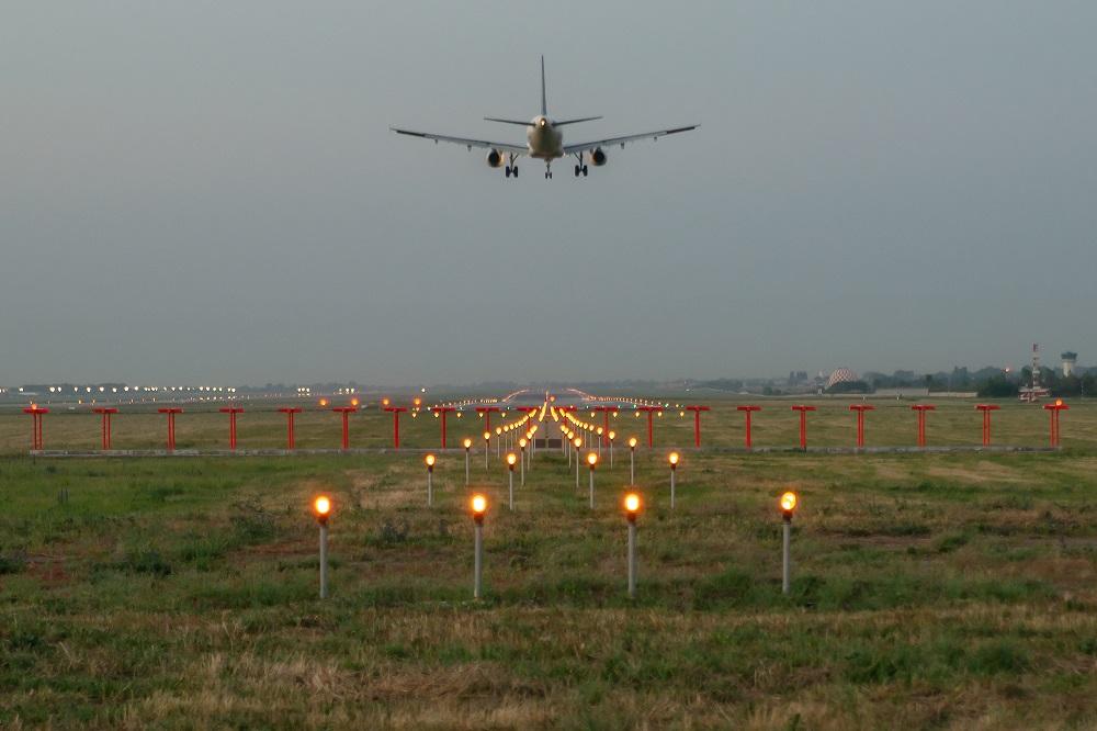 Экстренно сел самолет в Краснодаре