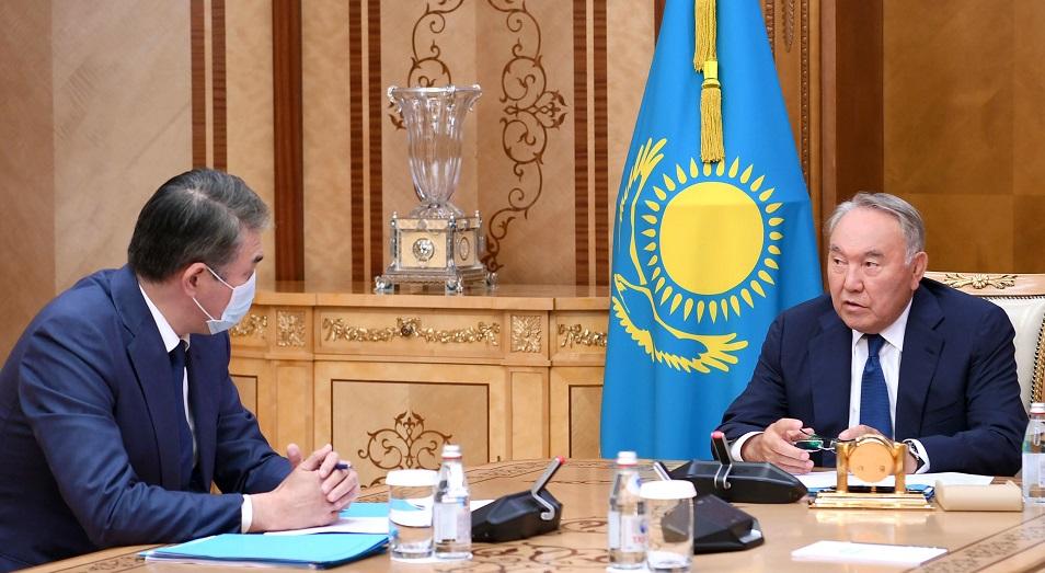 Председатель Совбеза принял Асета Исекешева