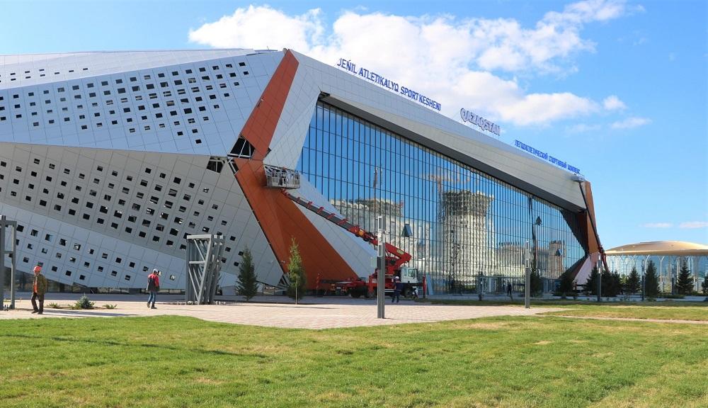Чемпионат Азии по легкой атлетике готовятся провести в новом легкоатлетическом комплексе в Нур-Султане