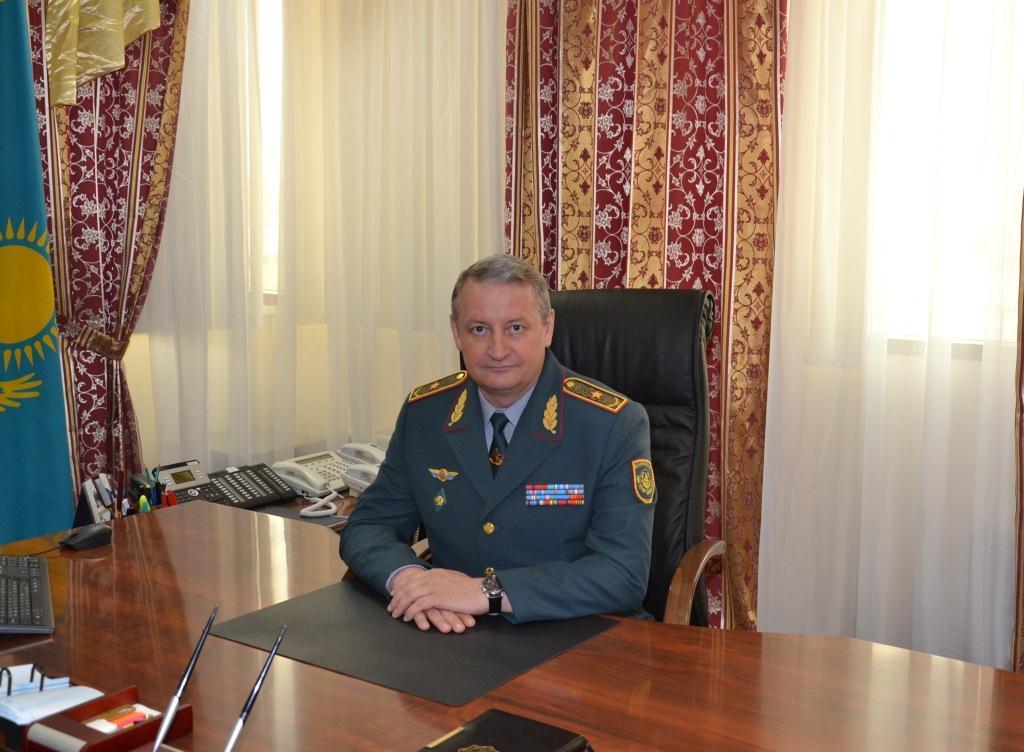 Досье: Беккер Владимир Робертович,  Комитет по ЧС МВД РК, назначение