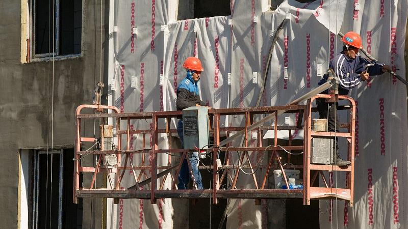 Объем стройработ в Казахстане в январе-августе увеличился на 11,8%