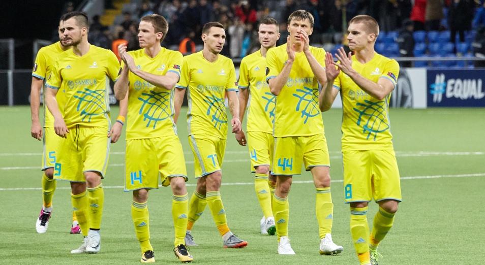 «Астану» ждёт датское турне в Дубае, Футбол, Астана, Спорт, Лига Европы, Григорий Бабаян