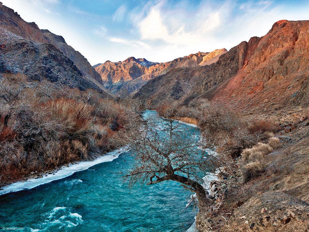 Несчастный случай произошел в Чарынском каньоне