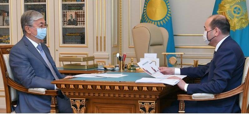 Генпрокурор РК проинформировал Токаева  о ходе расследования резонансных уголовных дел