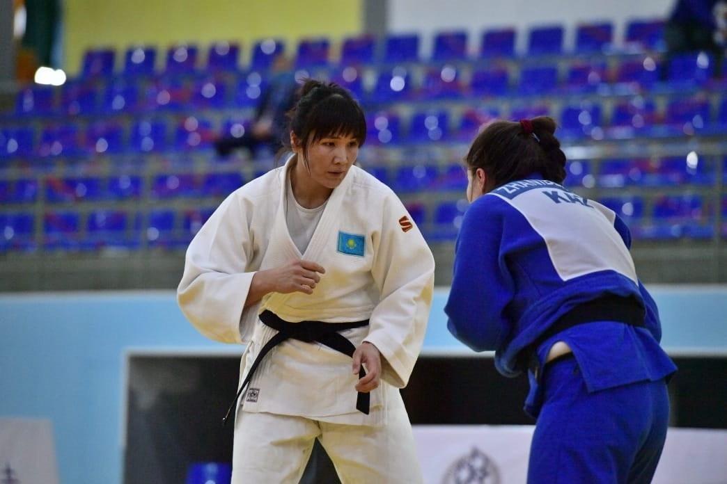 Зарина Райфова завоевала золото чемпионата страны по дзюдо