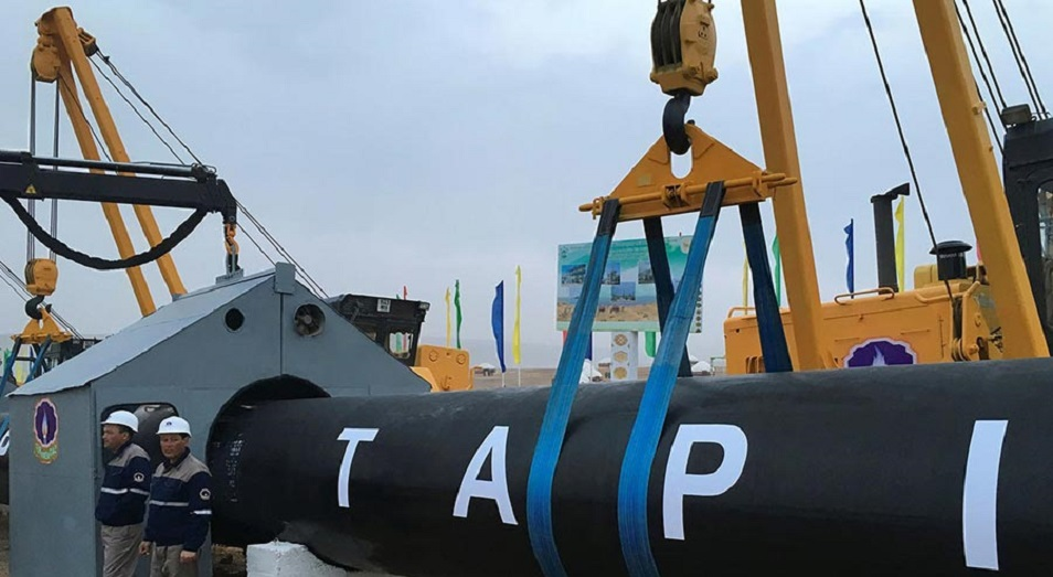 «Талибан» заявил о заинтересованности в постройке газопровода ТАПИ