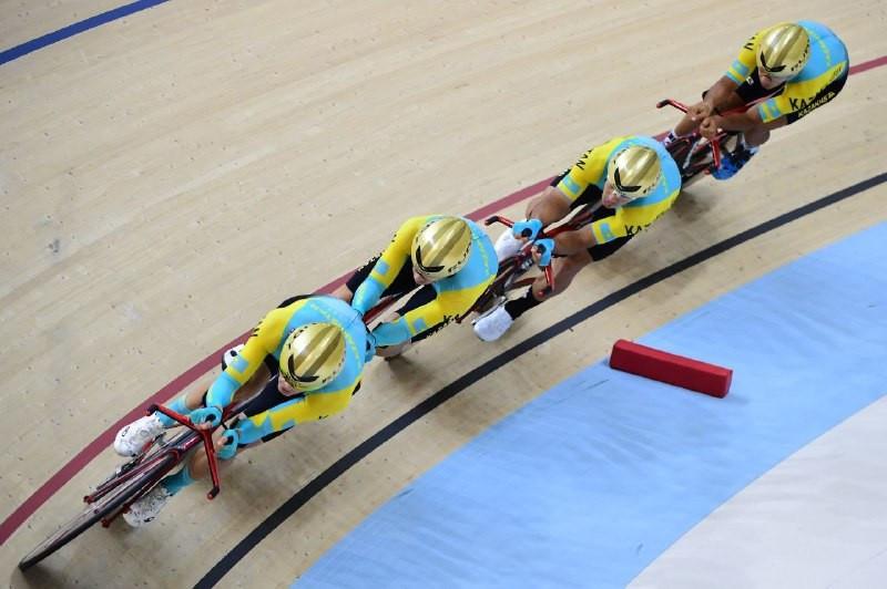 В Нур-Султане продолжается международный турнир по велотреку Silk Way Series Astana
