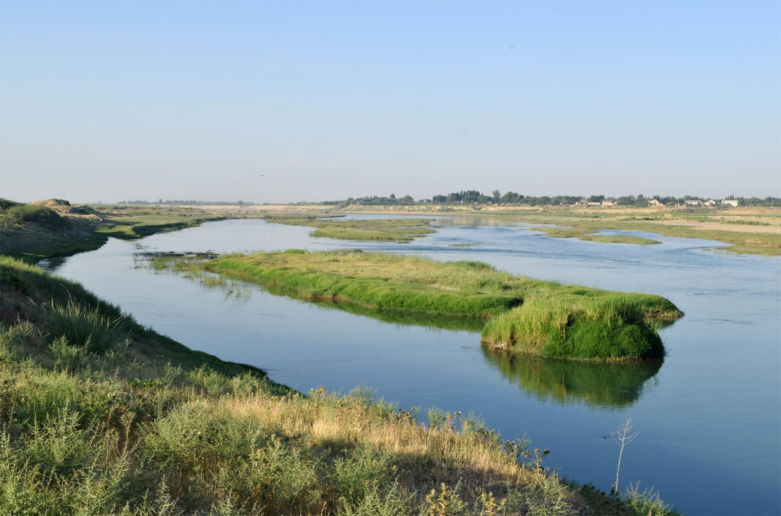 В Кызылорде углубляют русло Сырдарьи